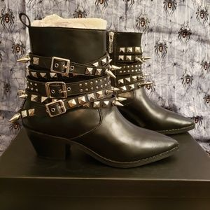 Killstar Callista Boots Size 8